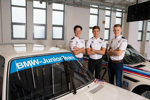 Das BMW Junior Team: Max Hesse (GER), Dan Harper (GBR), Neil Verhagen (USA) - Foto: BMW Motorsport