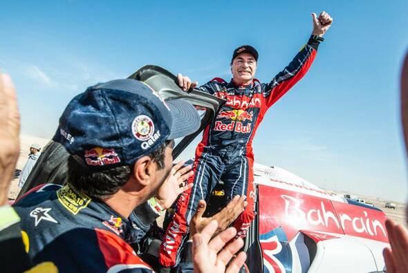 Nach 2010 und 2018 gewann Carlos Sainz Senior zum dritten Mart die Rallye Dakar - Foto: ASO/Dakar