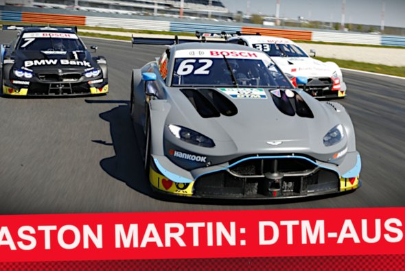 Aston Martin scheidet nach einer Saison aus der DTM aus - Foto: DTM
