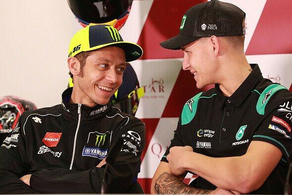Quartararo wird Rossis Nachfolger bei Yamaha werden - Foto: LAT Images