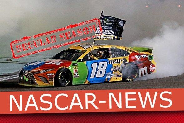 Donuts gehören auch in Corona-Zeiten zur NASCAR wie Lucky Dogs und die Victory Lane - Foto: LAT Images/MSM