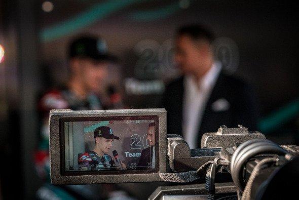 Für Fabio Quartararo beginnen die Media-Pflichten frühestens wieder im Mai - Foto: Ronny Lekl
