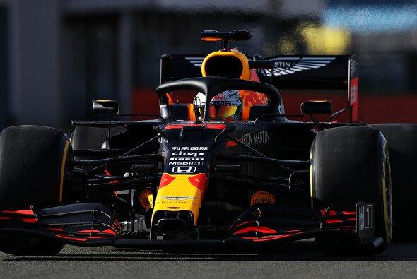 Max Verstappen fuhr den Red Bull der Saison 2020 bereits in Silverstone - Foto: Red Bull Content Pool