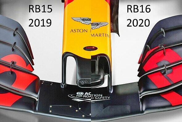 Die Nase des Red Bull RB16 zieht die Blicke auf sich - Foto: Red Bull