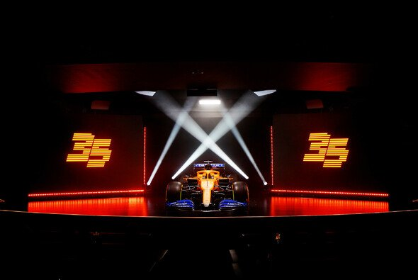 Aus dem McLaren MCL35 wird wegen Reglement und Mercedes-Wechsel 2021 der MCL35M - Foto: McLaren