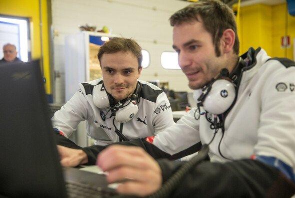 Lucas Auer bereitet sich ausgiebig auf sein Renndebüt mit BMW vor - Foto: BMW Motorsport