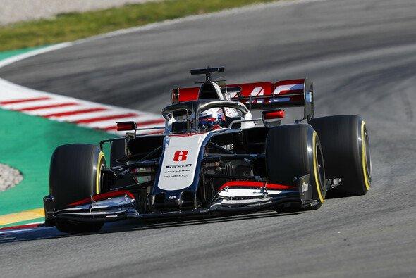 Romain Grosjean spulte am Donnerstag 158 Runden ab - Foto: LAT Images