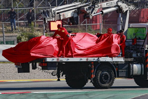 Motorschaden, Krankheit und langsame Pace. Die erste Testwoche fiel für Ferrari ernüchternd aus. - Foto: LAT Images