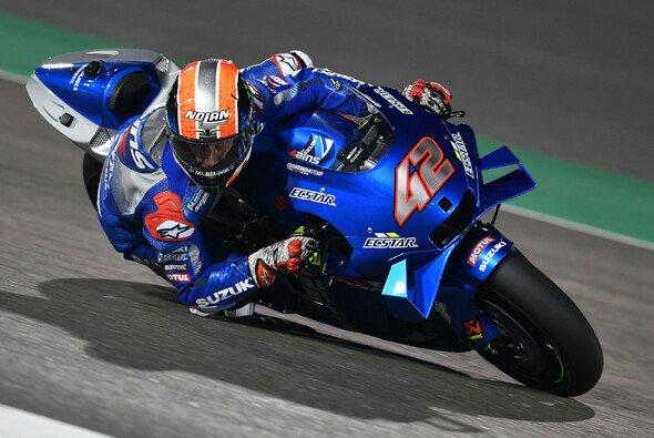 Bestzeit an Tag 1 in Katar für Suzuki und Alex Rins. - Foto: MotoGP