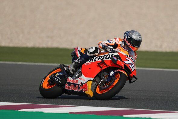 Alex Marquez: Schnell, aber nicht schnell genug. - Foto: HRC