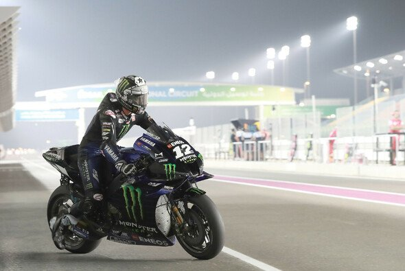Maverick Vinales beendete den Katar-Test als Schnellster. - Foto: LAT Images