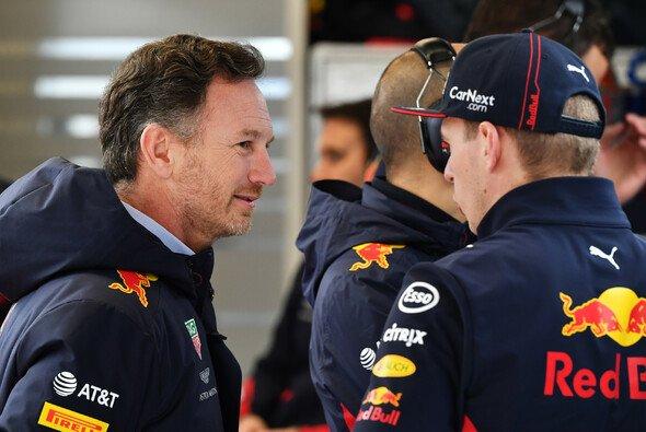 Red-Bull-Teamchef Christian Horner versteht Verstappens Frust - Foto: LAT Images