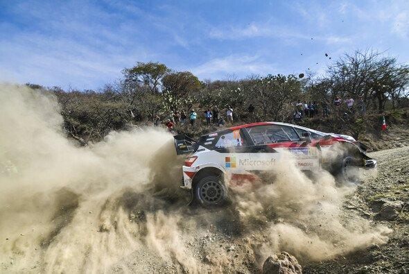 Sebastien Ogier gelang sein sechster Mexiko-Sieg - Foto: Toyota