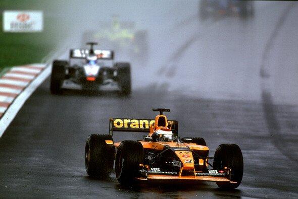 Jos Verstappen fuhr 2001 in Malaysia eines seiner stärksten Formel-1-Rennen - Foto: LAT Images