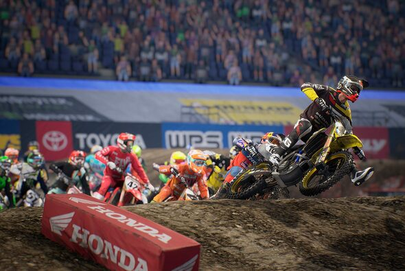 Monster Energy Supercross - The Official Videogame 3 ist für PlayStation4, Xbox One, Windows PC/STEAM, Google Stadia und Nintendo Switch erhältlich - Foto: Monster Energy Supercross - The Official Videogame 3