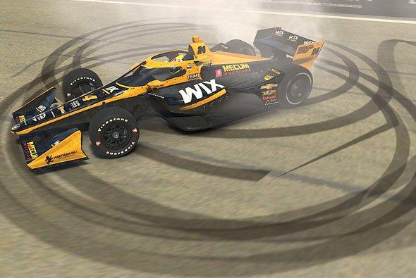Sage Karam siegt beim ersten Rennen der IndyCar iRacing Challenge in Watkins Glen - Foto: IndyCar