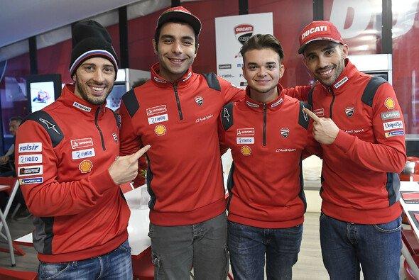 Andrea Saveri befindet sich bei Ducati in bester Gesellschaft - Foto: Ducati