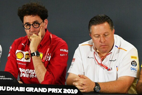 Ferraris Mattia Binotto konterte nun jüngste Aussagen von McLaren-CEO Zak Brown - Foto: LAT Images