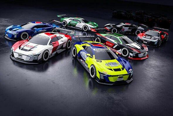 Die Charity-Serie wird mit dem elektrischen Konzept-Sportwagen von Audi ausgetragen. - Foto: Audi Motorsports Communication