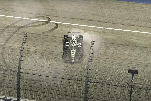 Simon Pagenaud gewinnt das Event der Indycar iRacing Challenge in Michigan - Foto: indycar