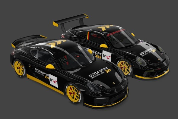 Motorsport-Magazin.com startet mit zwei Autos beim virtuellen 24h-Rennen der VRL24h auf dem Nürburgring - Foto: Motorsport-Magazin.com