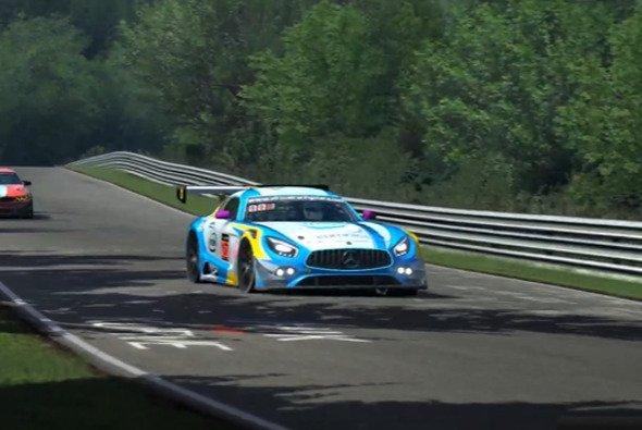 Platz 1 für Intel Racing auf der Nordschleife - Foto: Virtual Racing