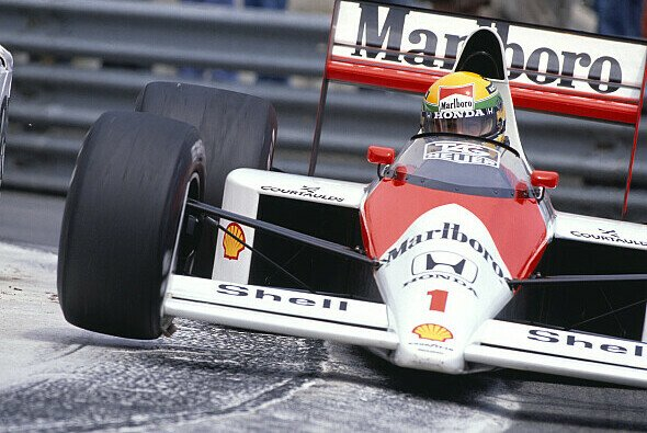 Ayrton Senna fuhr 1989 in Monaco in einer eigenen Liga - Foto: LAT Images