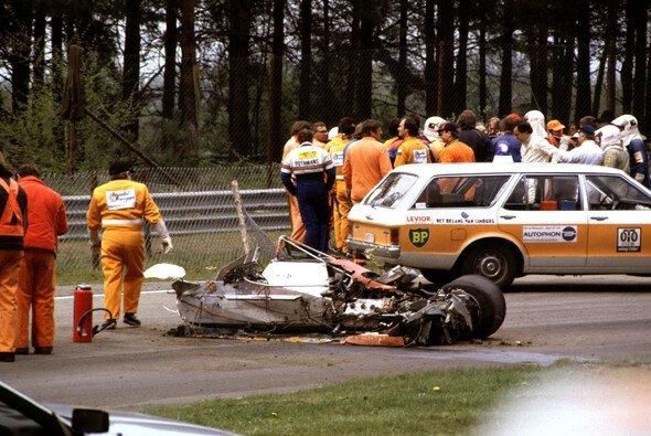 Gilles Villeneuve verstarb nach einem Unfall in der Qualifikation zum Belgien GP - Foto: LAT Images