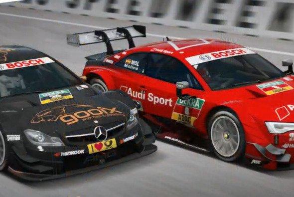 Die dritte Runde der DTM Esports Challenge ging auf dem Norisring über die Bühne - Foto: LAT Images