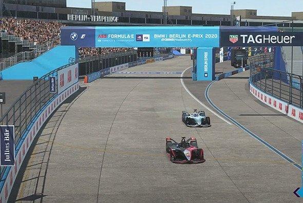 Letzte Runde in der virtuellen Formel-E-Meisterschaft - Foto: LAT Images