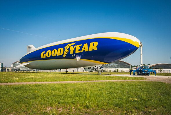 Für Goodyear ist der sogenannte Blimp eine Ikone - Foto: Goodyear