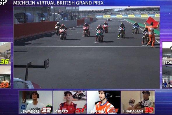 Von Pole zum Sieg: Jorge Lorenzo setzt sich beim virtuellen Grand Prix durch - Foto: MotoGP