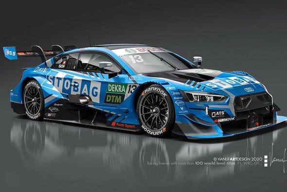 Premiere in blau: Fabio Scherers Audi RS 5 DTM für die Saison 2020 - Foto: W Racing Team