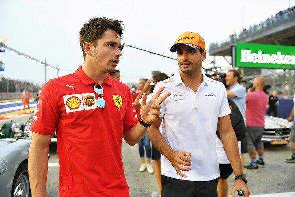 Charles Leclerc und Carlos Sainz, ab 2021 das neue Ferrari-Duo - Foto: LAT Images