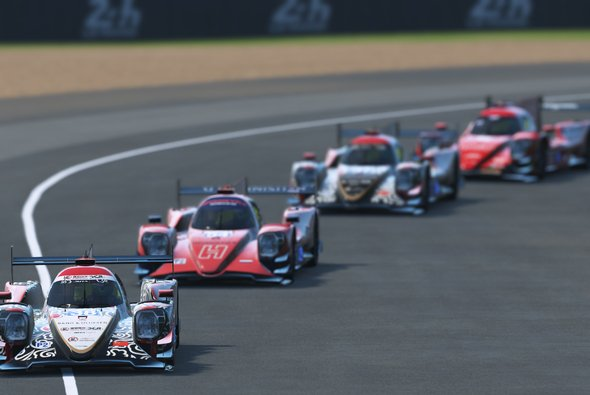Die LMP2 ist die Topklasse bei den virtuellen 24 Stunden von Le Mans - Foto: ACO/WEC