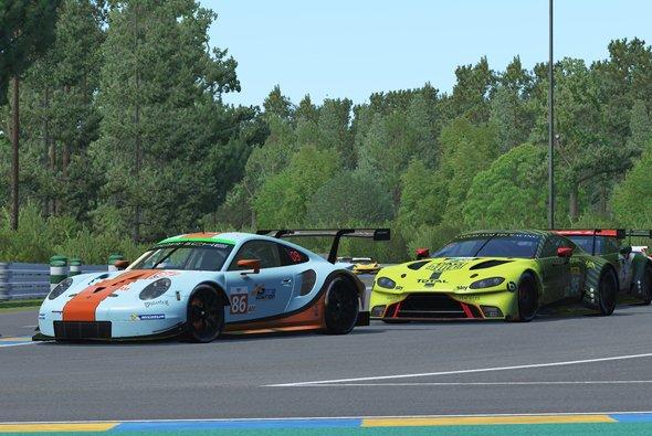 Nichts zu holen gab es für die Formel-1-Piloten beim virtuellen 24-Stunden-Rennen von Le Mans - Foto: ACO/WEC