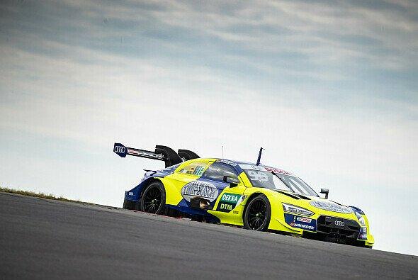Audi-Triple an der Spitze der Zeitenliste bei den DTM-Tests am Nürburgring - Foto: Audi Communications Motorsport