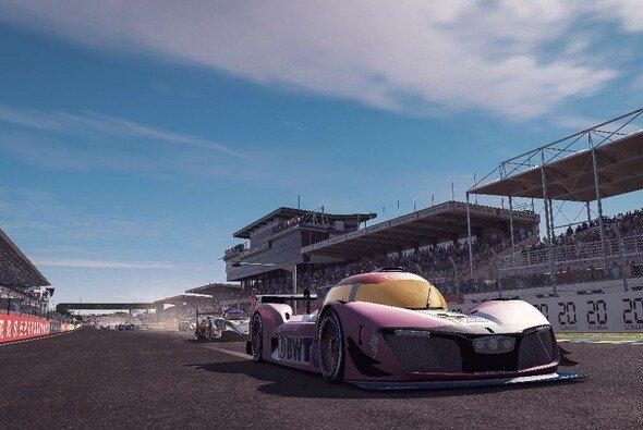 Der LMPH2G-Prototyp ist das Safety Car beim virtuellen Rennen in Le Mans - Foto: ACO/WEC