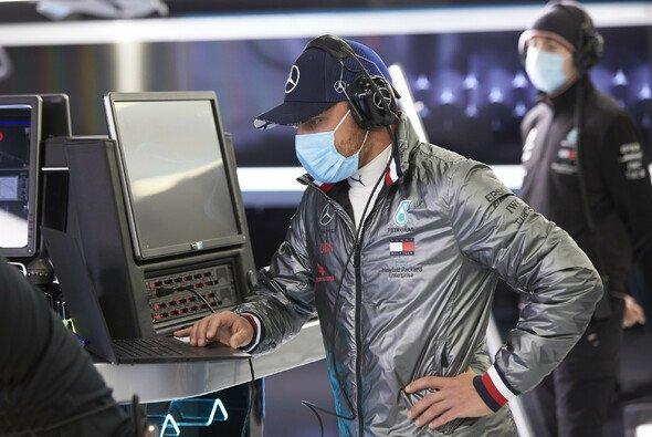 Valtteri Bottas saß beim privaten Mercedes-Test in Silverstone erstmals seit der Corona-Krise im Formel-1-Auto - Foto: Mercedes-Benz