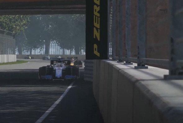 George Russell und Alex Albon belegen Platz 1 und 2 bei dem virtuellen GP - Foto: LAT Images