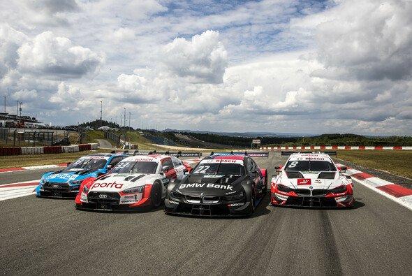 Die DTM testete auf dem Nürburgring unter Corona-Bedingungen - Foto: DTM