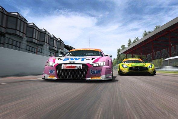 Packendes Simracing: Furioser Auftakt für die ADAC GT Masters eSports Challenge - Foto: RaceRoom