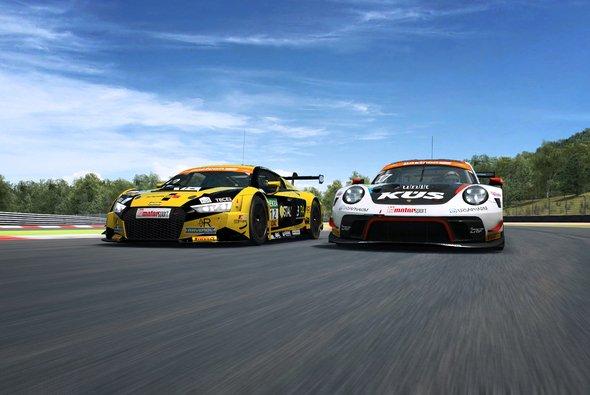 Zweites Rennen der ADAC GT Masters eSports Challenge - Foto: ADAC GT Masters