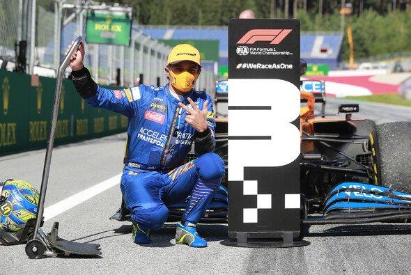 Lando Norris feierte beim Auftakt 2020 in Österreich das erste Podium seiner Formel-1-Karriere - Foto: LAT Images