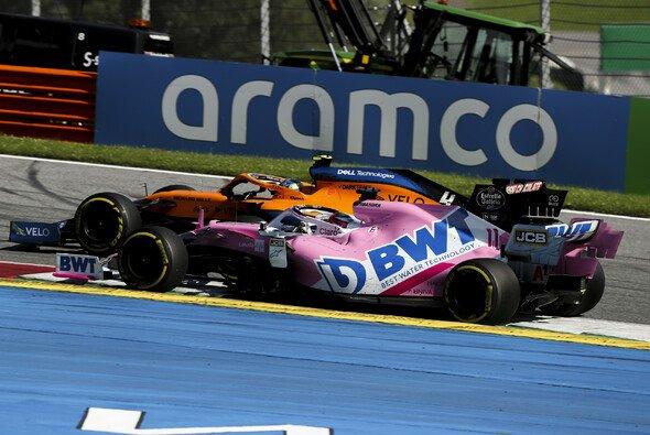 Sergio Perez' Racing Point litt in der Schlussphase auf alten Reifen - Foto: LAT Images
