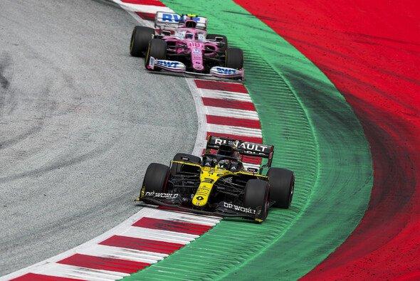 Renault vor Racing Point - dieses Bild scheint allmählich Seltenheitswert zu gewinnen - Foto: LAT Images