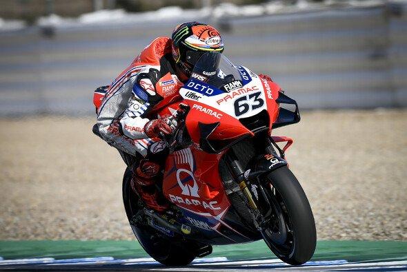 Francesco Bagnaia flog im 1. Training ab - Foto: MotoGP.com