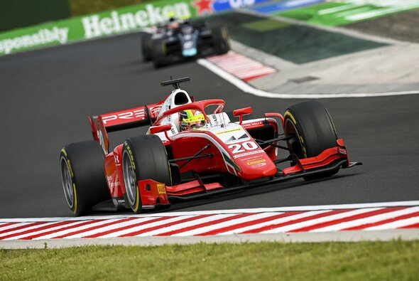 Mick Schumacher: 'Nur' Platz 3 nach einem starken Auftritt beim Hauptrennen auf dem Hungaroring - Foto: LAT Images