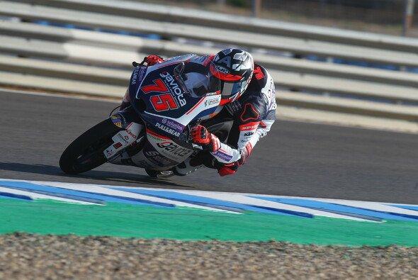 Albert Arenas feiert seinen zweiten Saisonsieg - Foto: MotoGP.com