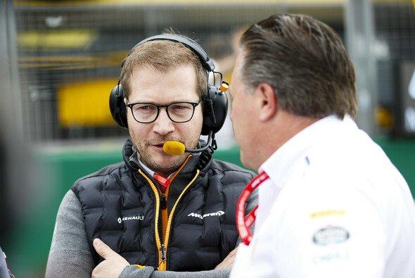 McLaren-Teamchef Andreas Seidl hofft bei Konkurrenz-Überwachung auf die FIA - Foto: LAT Images